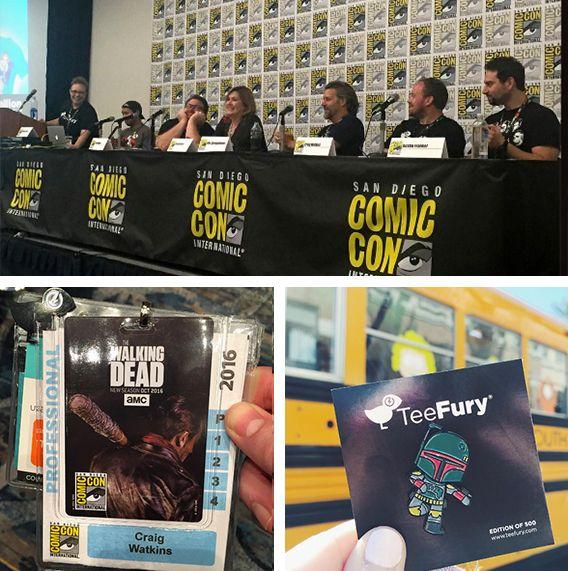San Diego Comic Con 2016 wotto